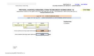 Przegląd okresowy drogi - strona główna