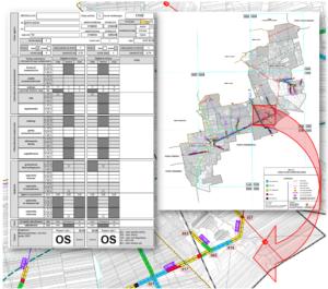 Elementy dokumentacji wyników oceny stanu nawierzchni jezdni (wg metody BIKB-IBDM)
